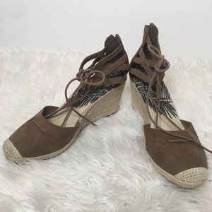DV Dolce Vita Wedge Espadrille Sandals